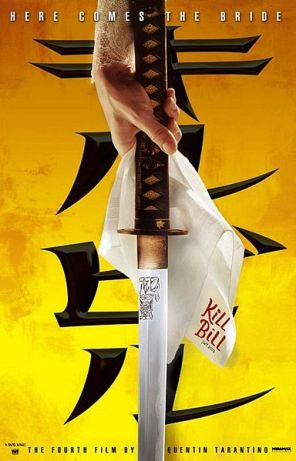 Kill Bill: Vol. 1 Theatrical Poster - Wikipedia