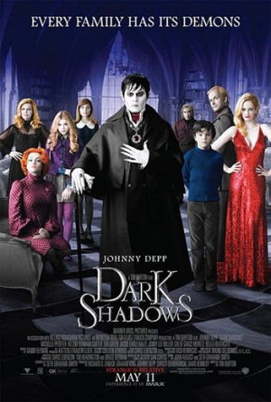 Dark Shadows Poster - Wikipedia