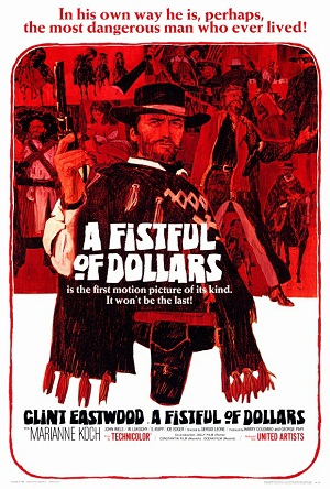 A Fistful of Dollars Poster - Wikipedia