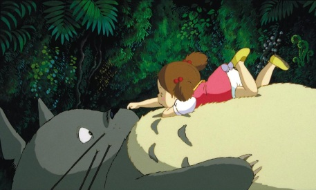 Image result for totoro mei sleeping