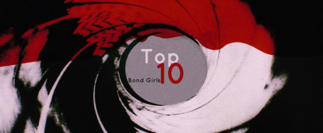 Top Ten Bond Girls
