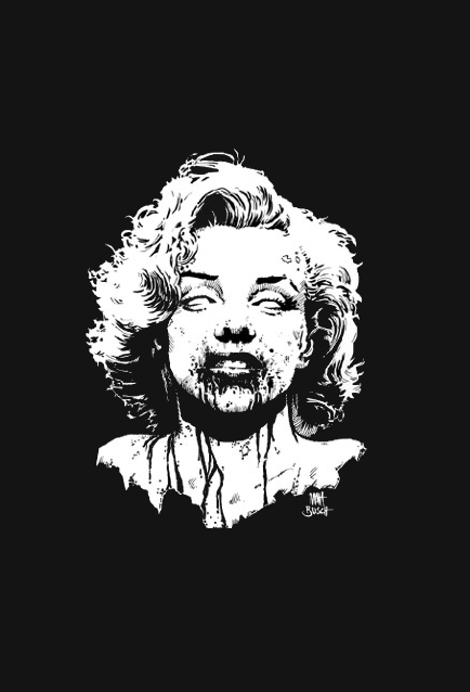 Undead Marilyn Matt Busch