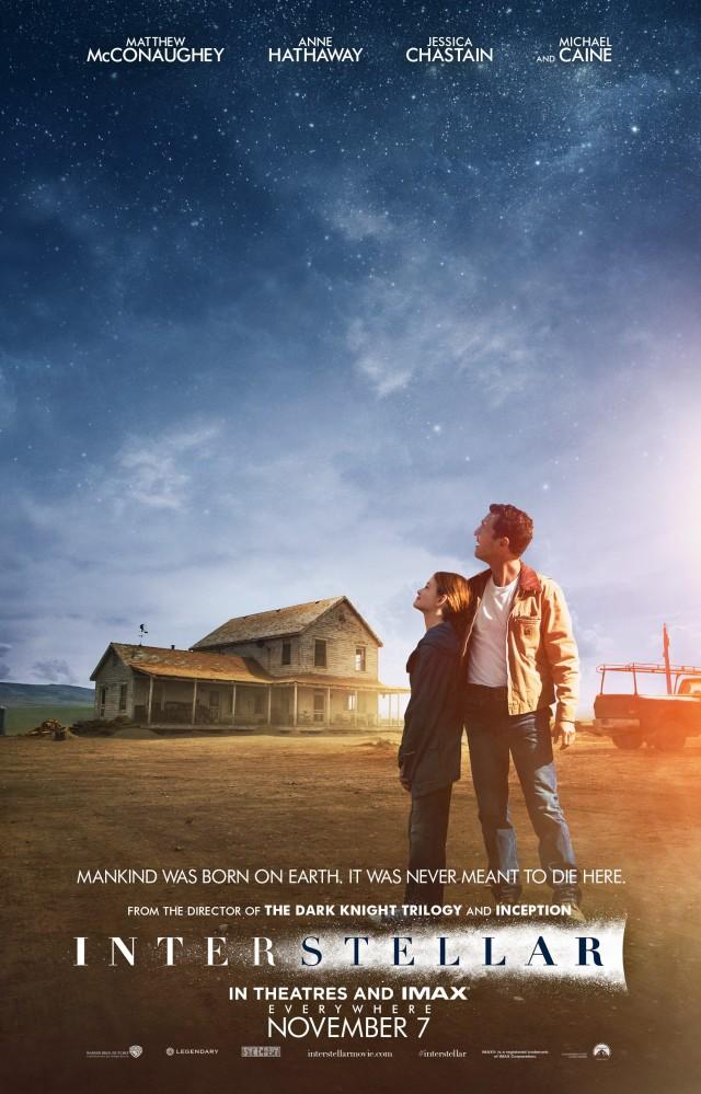 Interstellar Movie-Poster