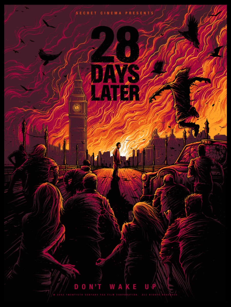 New 28 Days Later Limited Edition Prints Available